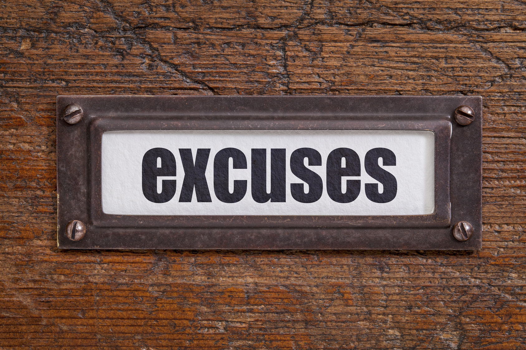 3 Top Excuses Used for Not Taking Action